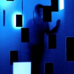Black over blue, Marine Antony, 2011